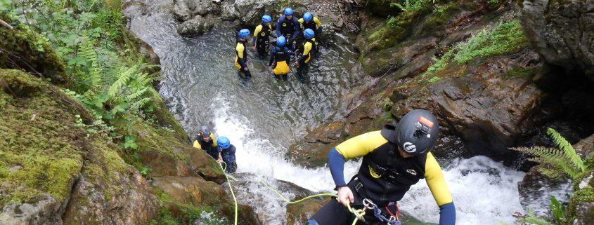 Canyoning in Asturias