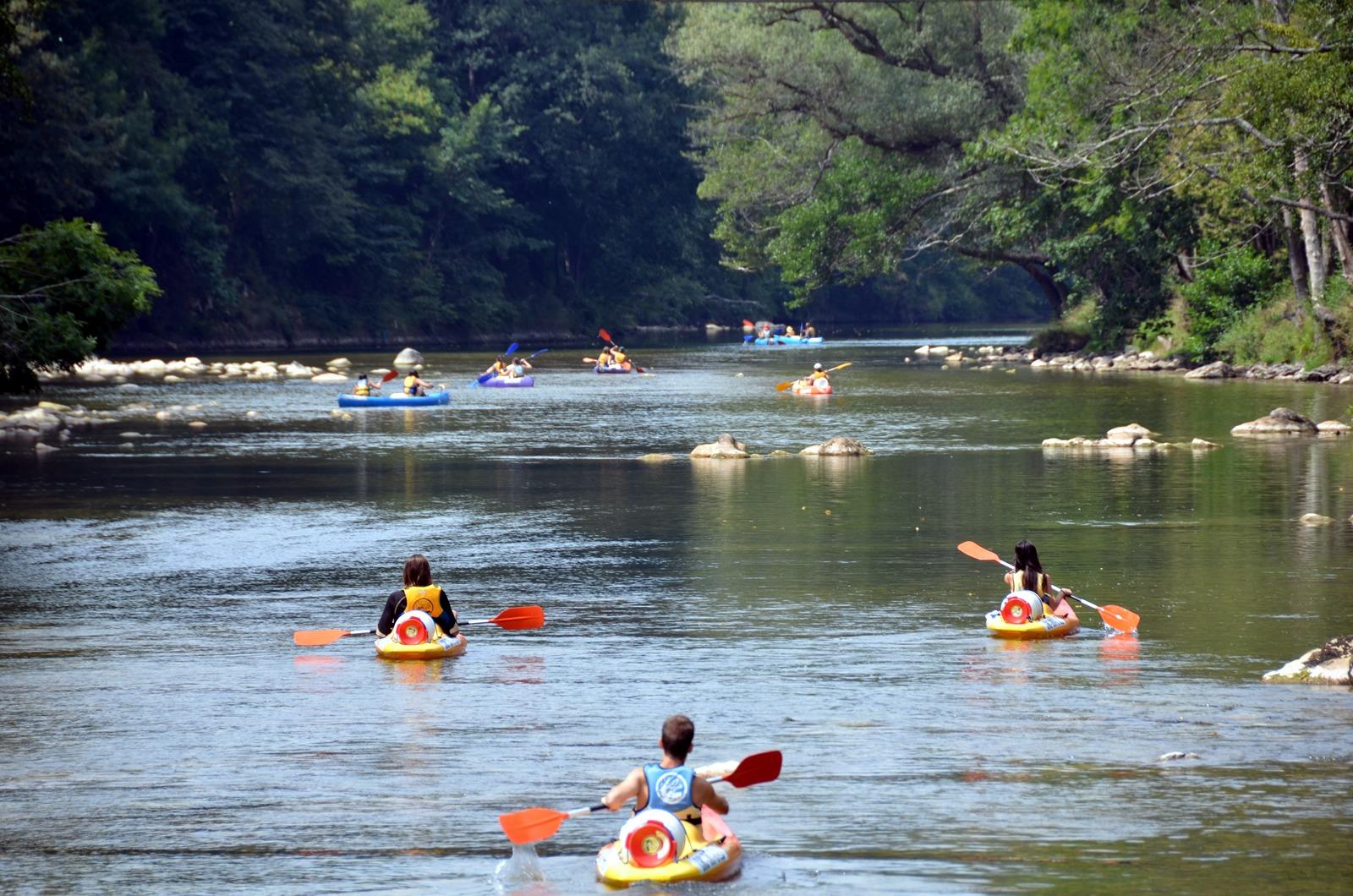 4 Km de la bajada del sella en canoa