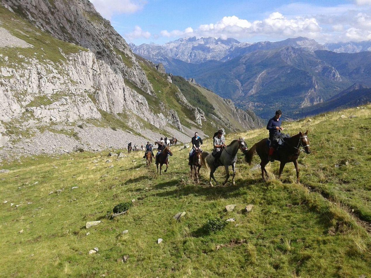 Rutas a caballo por los Picos de Europa