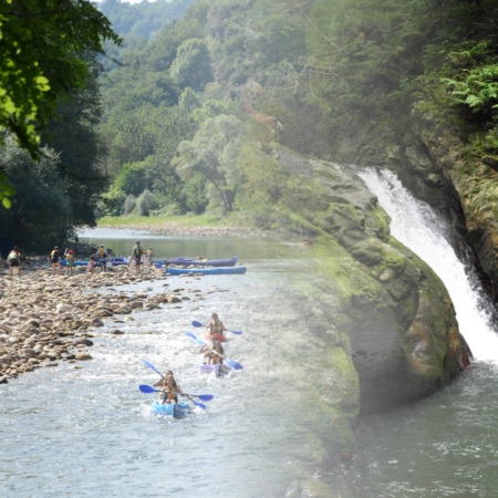Down the best river at north spain, Sella river, and do canyoning in Asturias